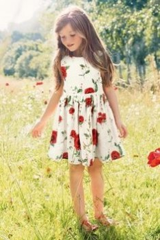 АВАТАРКИ банк аватарок и картинок для них  - Simple but gorgeous, this Poppy Print Prom Dress screams summer outings!.jpeg